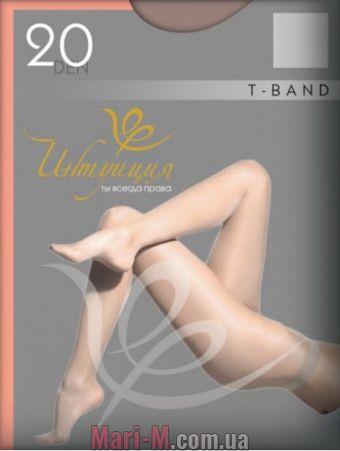 Фото - Шелковистые колготки T-band Premium 40den Интуиция Интуиция купить в Киеве и Украине
