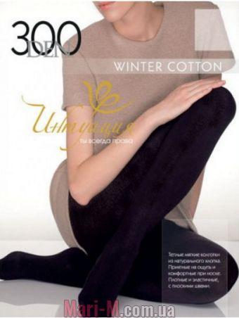 Фото - Хлопковые колготы Winter Cotton 300den Интуиция Интуиция купить в Киеве и Украине