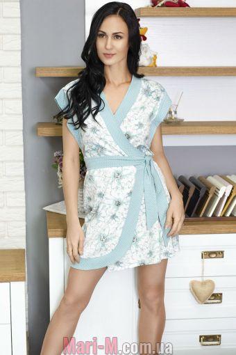 Фото - Хлопковый женский халат №753 Leinle Roksana Roksana купить в Киеве и Украине