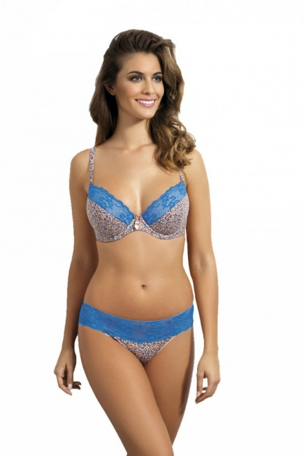 Бюстгальтер push-up 413 Turquoise I Kinga Kinga