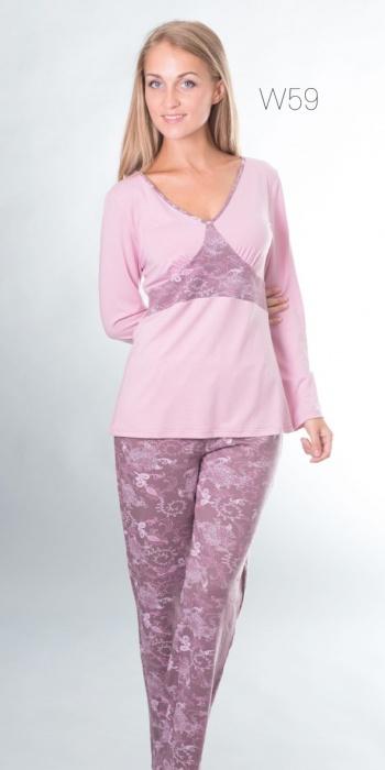 Комплект пижама из вискозы 59 Wiktoria Wiktoria