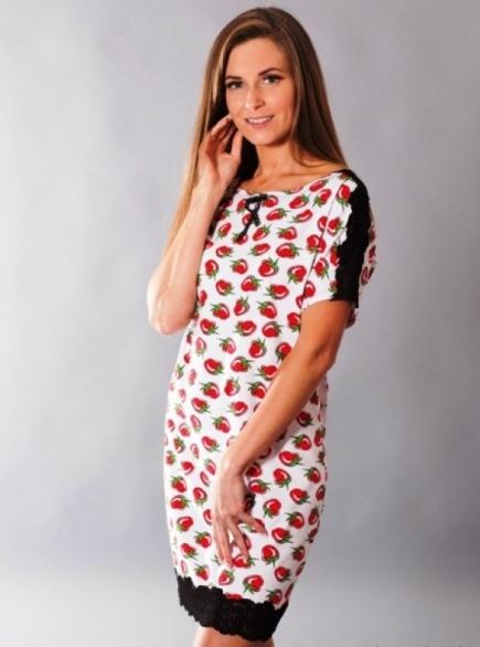 Хлопковая сорочка/домашнее платье 088 Wiktoria Wiktoria