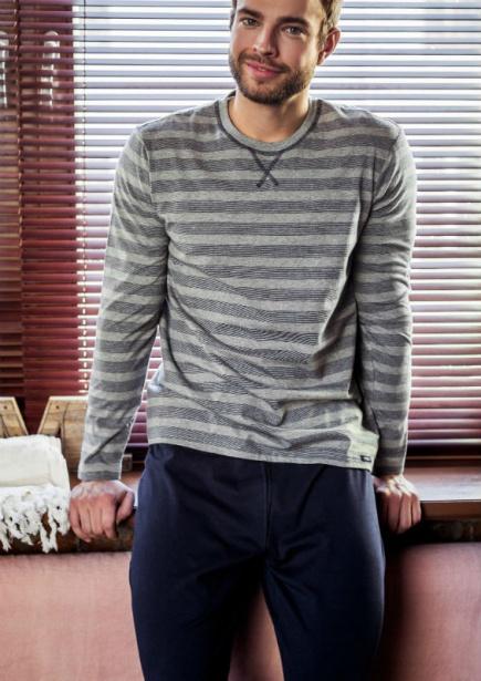 Мужская хлопковая пижама MNS 035 B7 Key Key