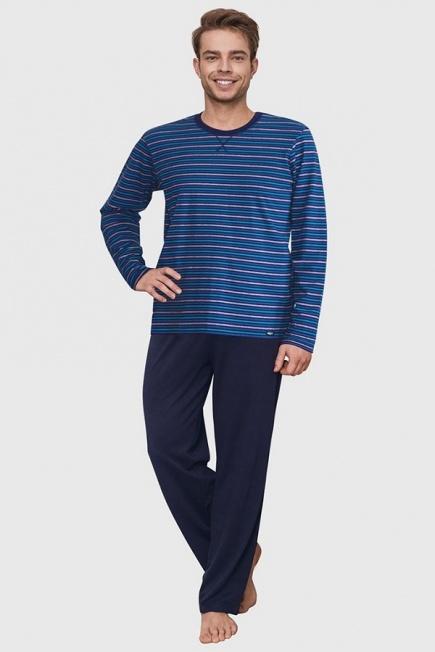 Хлопковая мужская пижама MNS 343 B6 Key Key