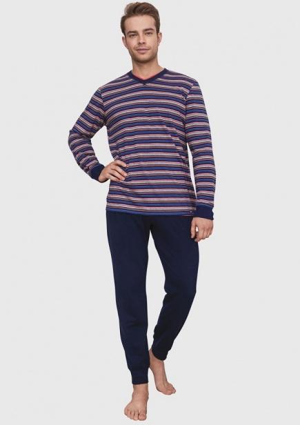 Хлопковая мужская пижама MNS 394 B6 Key Key