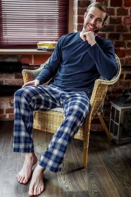 Мужская пижама/домашний костюм MNS 411 B7 Key Key