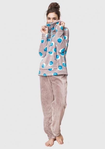 Флисовая пижама/домашний костюм LHS 054 B6 Key  Key