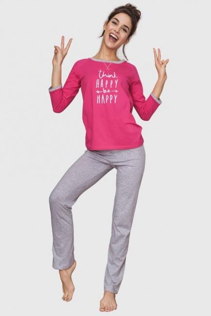 Хлопковая женская пижама LNS 609 B6 Key  Key