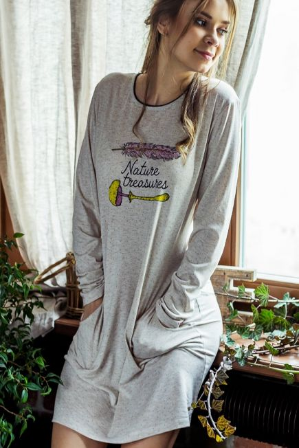 Женская сорочка/платье LND 828 B7 Key Key