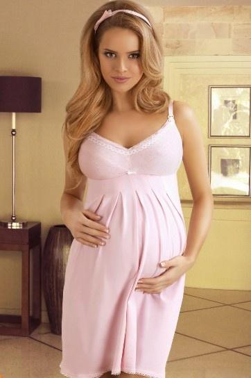 Ночная сорочка для беременной и кормящей мамы 1341 Lupo Lupo