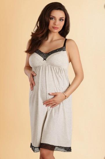 Ночная сорочка для беременной и кормящей мамы 1570 Lupo Lupo