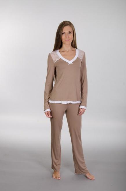 Комплект пижама с кружевом 138 Wiktoria Wiktoria