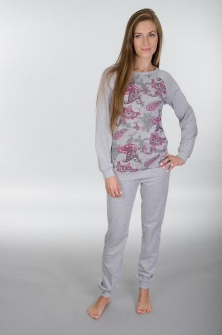 Хлопковая пижама/домашний костюм 119 Wiktoria (несколько цветов) Wiktoria