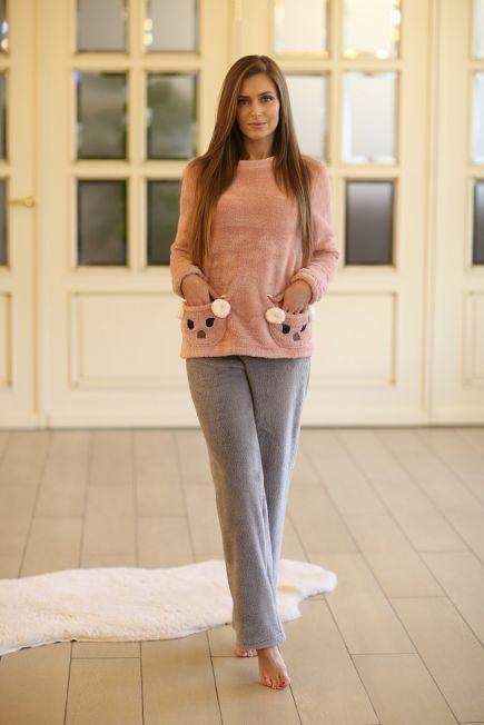Плюшева пижама Wiktoria 326 (несколько цветов) Wiktoria