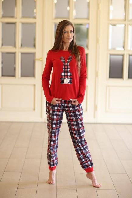 Женская хлопковая пижама 332 Wiktoria Wiktoria