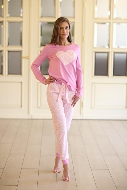 Женская хлопковая пижама 335 Wiktoria Wiktoria