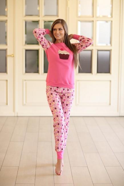 Женская хлопковая пижама 339 Wiktoria  Wiktoria
