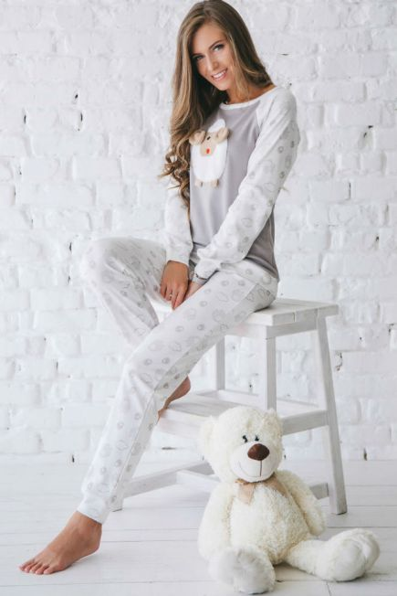 Купить Одежда для дома и сна женская пижама Коричневый в Киеве ... 9c756a2b75569
