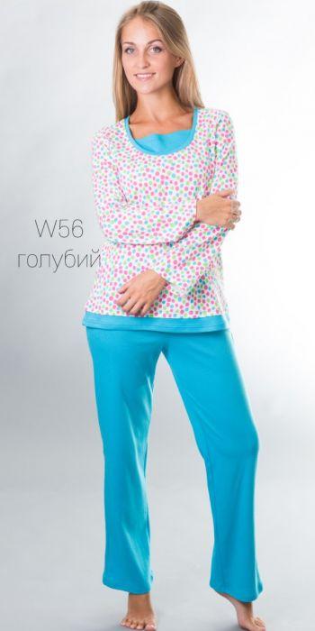 Хлопковая пижама 56 Wiktoria (несколько цветов) Wiktoria
