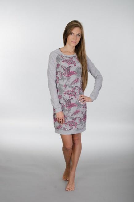 Хлопковая сорочка/домашнее платье 118 Wiktoria (несколько цветов) Wiktoria