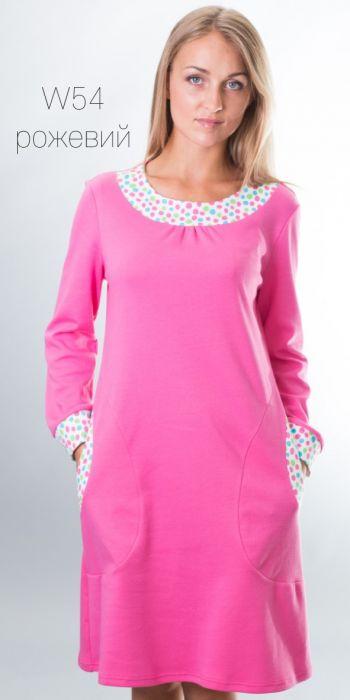 Хлопковая сорочка/домашнее платье 54 Wiktoria Wiktoria