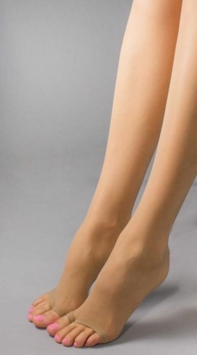 Колготки с открытым носком 206 Oasis 15den Mura Mura