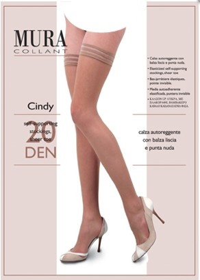 Чулки на силиконе 229 Cindy 20den Mura Mura