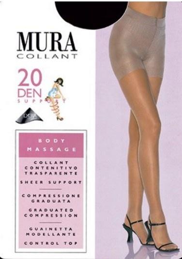 Утягивающие колготки 302 Body Massage 20den Mura Mura