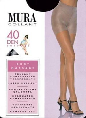 Утягивающие колготки 40de 304 Body Massage Mura Mura