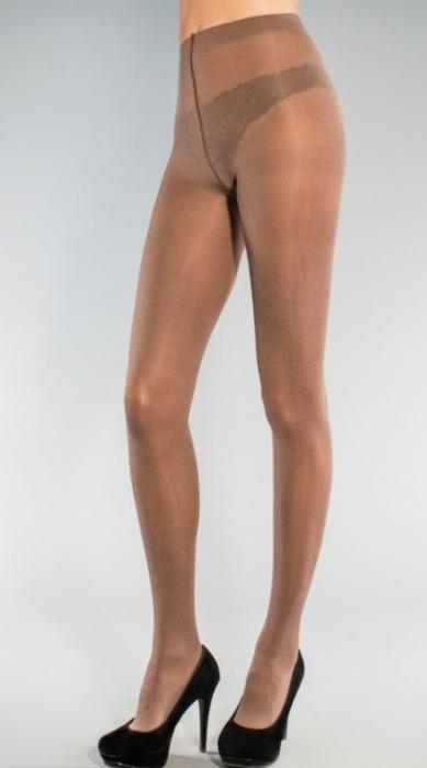 Колготки из меланжевого микроволокна Melange 60den Legs Legs