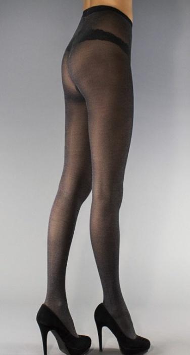 Эластичные колготки с хлопком Cotton 40den Legs Legs