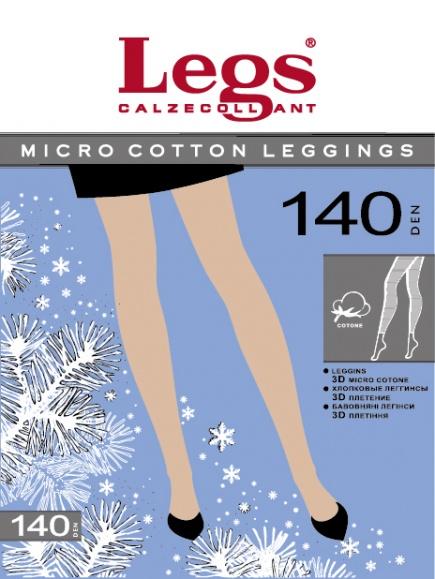 Хлопковые леггинсы Micro Cotton 140den Legs Legs