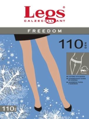 Хлопковые колготки с шерстью Freedom 110den Legs Legs