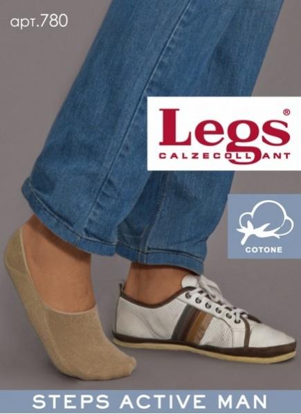 Мужские хлопковые подследники для спортивной обуви 780 Legs Legs