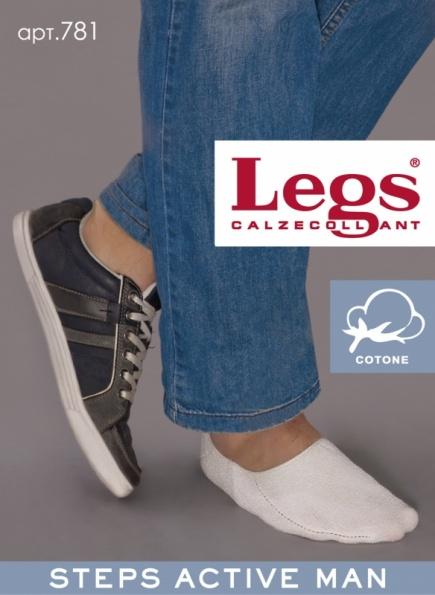 Мужские хлопковые подследники для спортивной обуви 781 Legs Legs