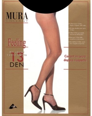Тонкие колготки 13den Feeling 813 Mura Mura