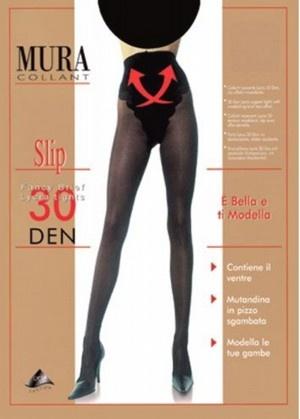 Поддерживающие колготки 30den Slip 830 Mura Mura