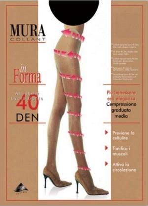 Поддерживающие колготки 40den 840 In Forma Mura Mura