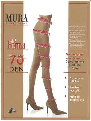 Поддерживающие колготки 70den 870 In Forma Mura Mura