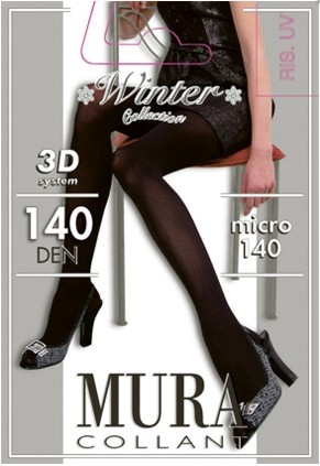 Колготки из микрофибры 140den 925 Collant 3d Micro Mura Mura