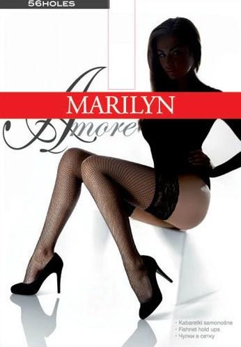 Чулки сетка с кружевной резинкой Amore Kabaretki Marilyn Marilyn