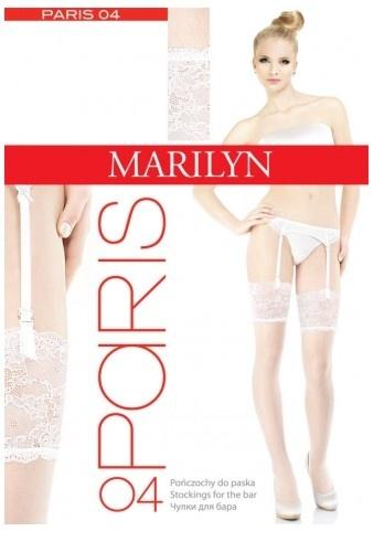 Чулки под пояс с широким кружевом 20 den Paris 04 Marilyn Marilyn