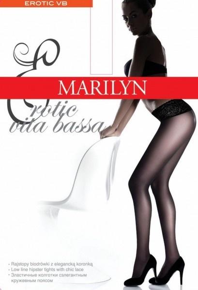 Колготки с кружевным поясом 30 den Casting erotic vita bassa Marilyn Marilyn