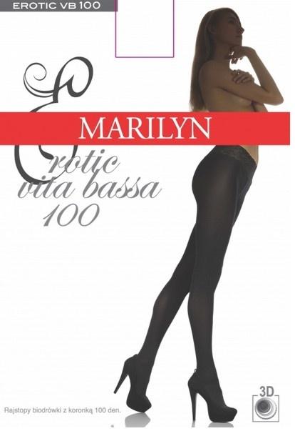 Колготки с кружевным поясом 100 den Erotic Vita Bassa Marilyn Marilyn