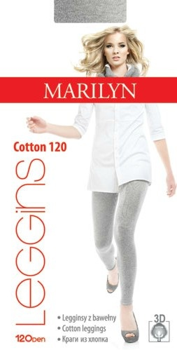 Хлопковые леггинсы Cotton 120 Marilyn Marilyn
