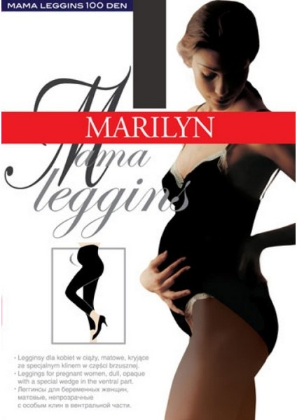 Леггинсы для беременных 100 den Mama Marilyn Marilyn