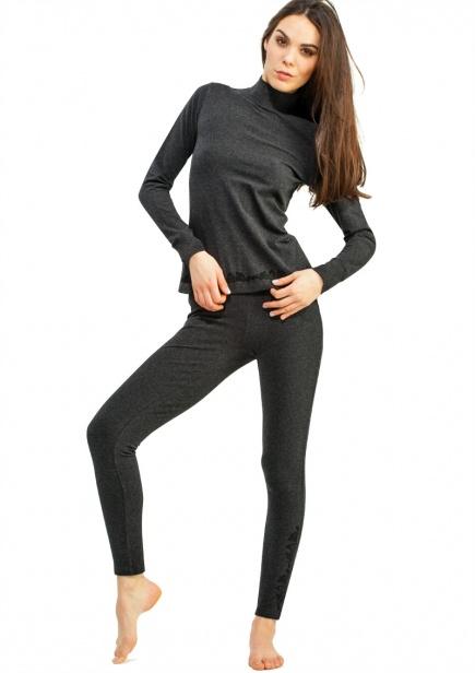 Хлопковые штаны с начесом LXL729B3 Key Key