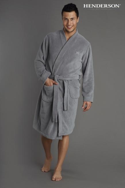 Мужской халат в 3х цветах 31622 Henderson Henderson