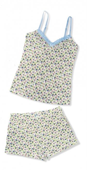 Хлопковые трикотажные шорты 1625 Blueberry Kleo Kleo