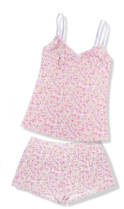 Хлопковые трикотажные шорты 1656 Flower Fields Kleo Kleo
